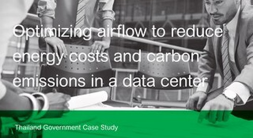 [Case Study] DCIM - Optimizing Airflow to Reduce Energy Costs and Carbon Emissions in a Data Center