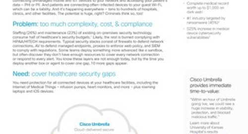 Cover Healthcare Security Gaps