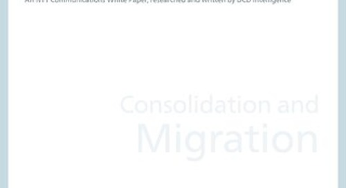 Consolidation and Migration White Paper