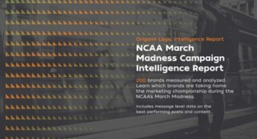 NCAA March Madness 2016 Campaign Report