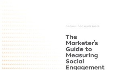 The Marketer's Guide to Measuring Social Engagement