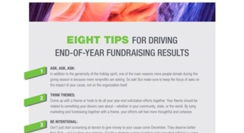 8 Tips for Driving End-of-Year Fundraising Results