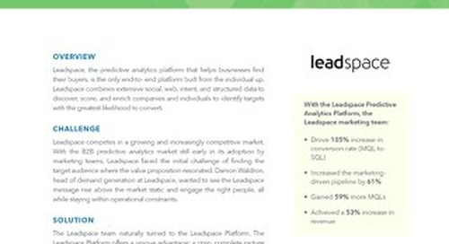 Leadspace ForLeadspace CaseStudy