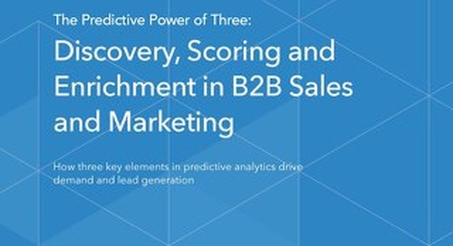 Predictive Power of Three: Discovery, Scoring and Enrichment