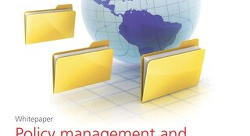 Policy management and compliance