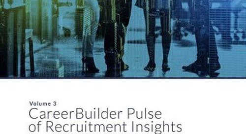 CareerBuilder Pulse of Recruitment