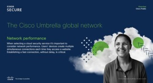 Cisco Umbrella global network