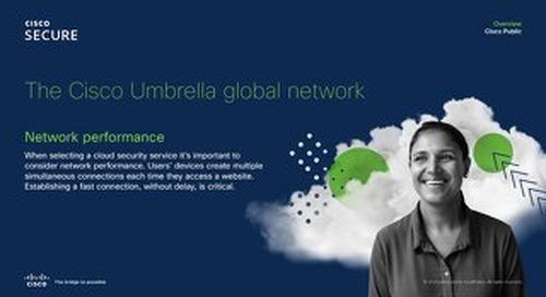 Cisco Umbrella global network