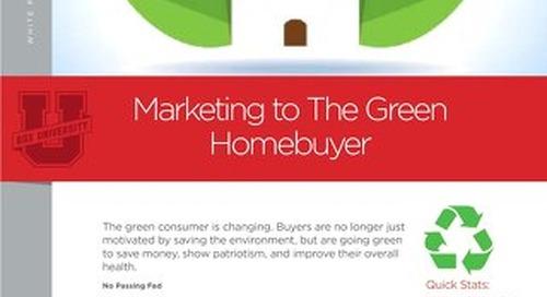 Marketing To The Green Homebuyer