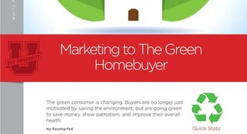 Marketing To The Green Homebuyer