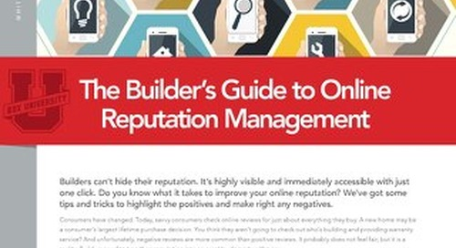 Builder Reputation Management