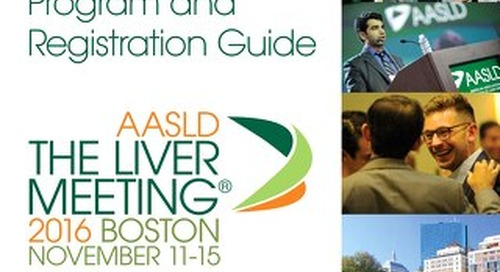 Liver Mtg 16 Prelim. Program & Registration Guide