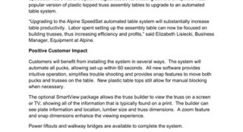 SpeedSet Press Release 082216