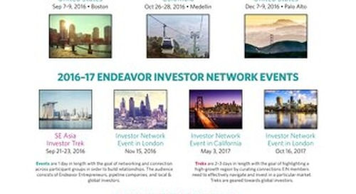 2016-17 Endeavor Events
