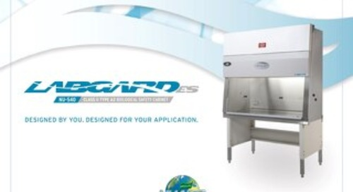 [Brochure] LabGard ES NU-540 Class II, Type A2 Biosafety Cabinet