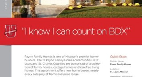 CASE STUDY: Payne Family Homes