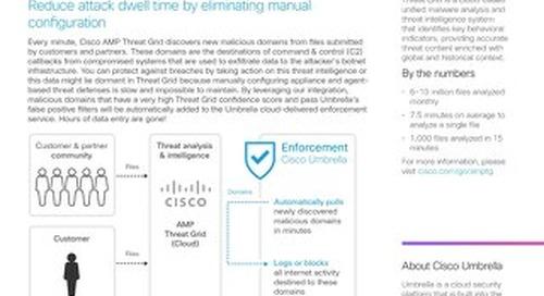 Cisco AMP Threat Grid Integration