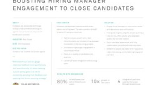 Boosting Hiring Manager Engagement to Close Candidates at Compass