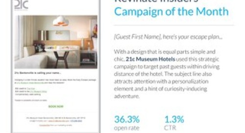 Insiders Campaign of the Month: 21c Museum Hotels