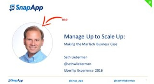 Seth Lieberman Uberflip Experience 2016