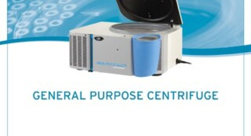 [Brochure] NuWind General Purpose Centrifuge Brochure