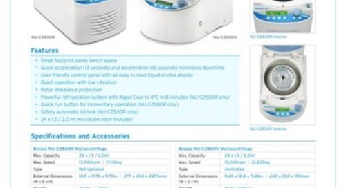 [Flyer] Breeze Microcentrifuges