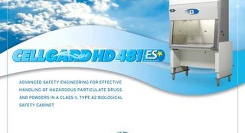 [Brochure] CellGard Hazardous Drug NU-481 Class II, Type A2 Biosafety Cabinet