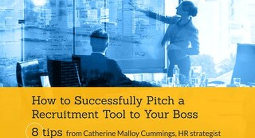 How to Successfully Pitch a Recruitment Tool to Your Boss