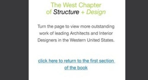 STRUCTURE + Design: West Chapter