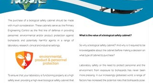 [White Paper] Biosafety Cabinet Buyer's Guide