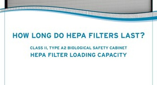 [White Paper] How Long do HEPA Filters Last