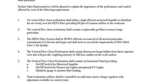 [Spec] NU-126 Specification (115V/230V)