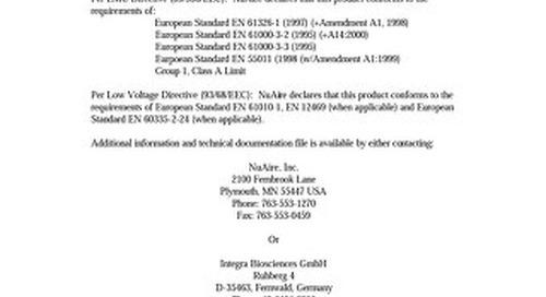 [Bulletin] European Standard Directive