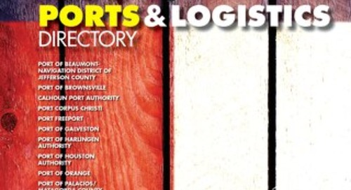 Texas Ports and Logistics Directory, Sept. 2016