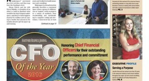 CFO of the Year — September 12, 2016