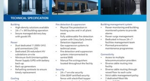 UK Slough 2 Data Center Tech Spec