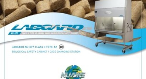 [Brochure] LabGard NU-677 Animal Handling Class II, Type A2 Biosafety Cabinet