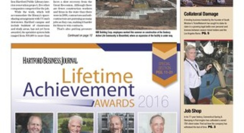 Lifetime Achievement Awards — September 19, 2016