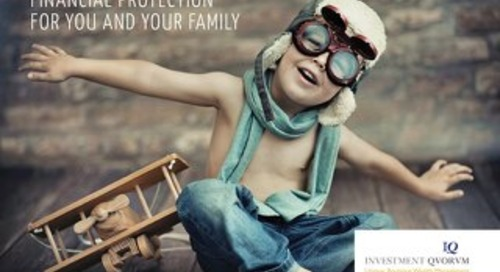 Financial Protection for you and your family