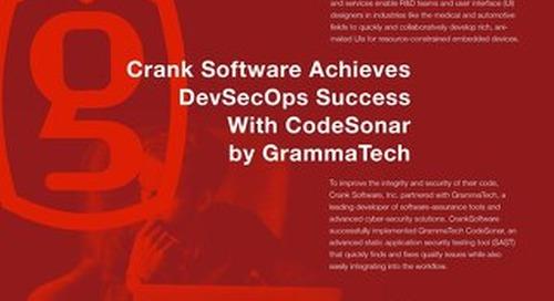 Crank Software GrammaTech Case Study