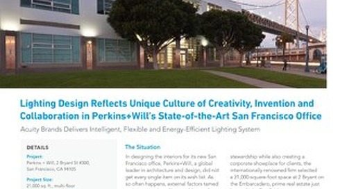 Perkins+Will's State-of-the-Art San Francisco Lighting Design Reflects Unique Culture of Creativity, Inventiveness, and Collaboration
