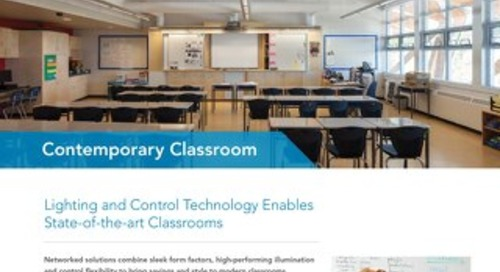State-of-the-Art Contemporary Classrooms
