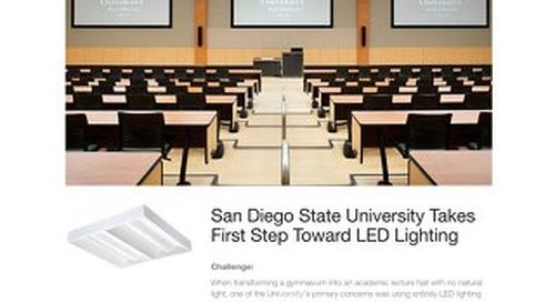 San Diego State University Takes First Step Toward LED Lighting
