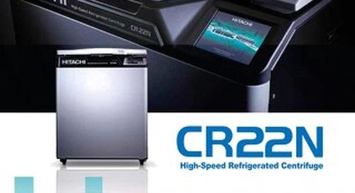 [Brochure] Hitachi CR22N High Speed Centrifuge