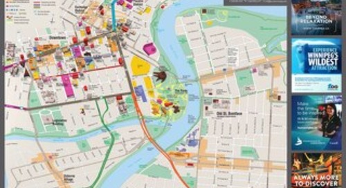2017 Downtown St Boniface Visitor Map