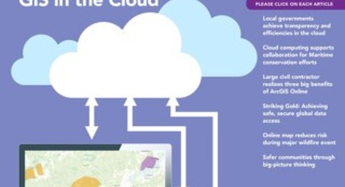 Volume16, no1– Des SIG dans le nuage (printemps2013)