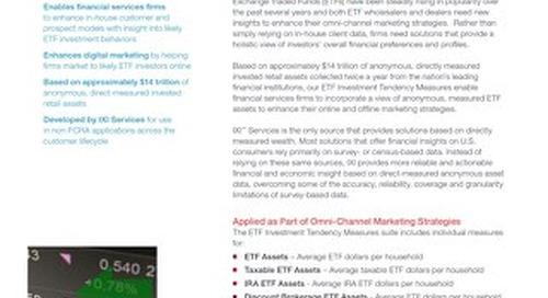 ETF Investment Tendency Measures