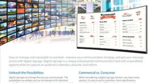 Benefits of Digital Signage