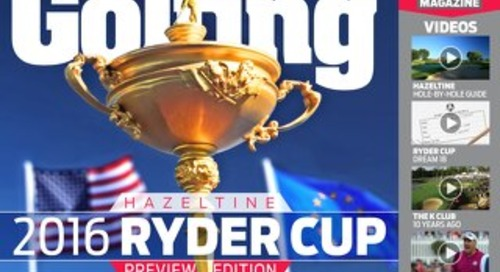 Friday 30th October 2016 Ryder Cup