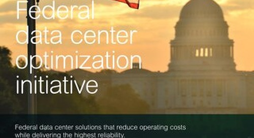 Federal Data Center Optimization Initiative (DCOI) Brochure
